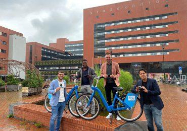 Deelfiets Nederland is de eerste deelfietsaanbieder die omgevingsdata verzamelt en deelt