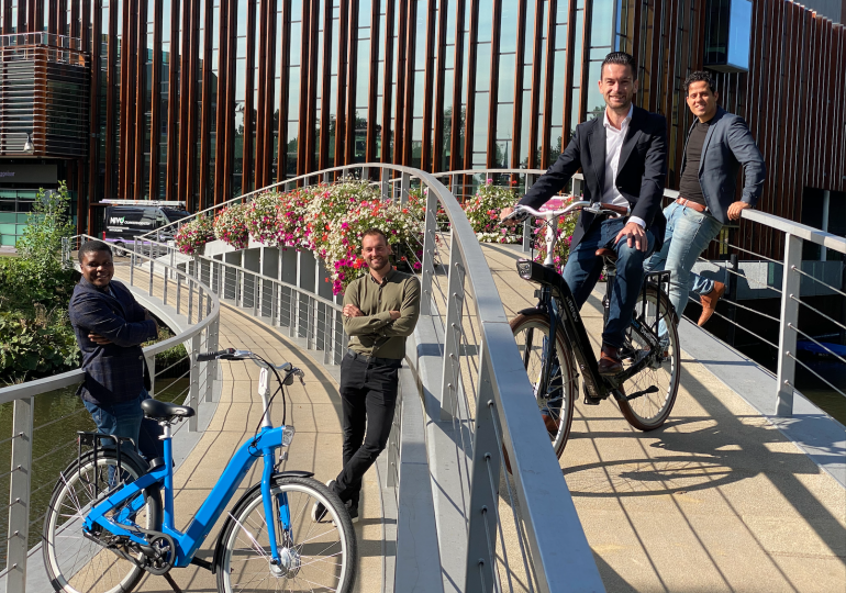 Nieuws | Patrick Visch versterkt team Deelfiets Nederland