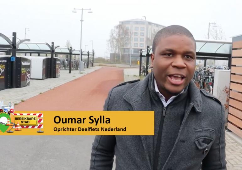 Vlog: Deelfietsen bij P+R Hoogkerk Groningen