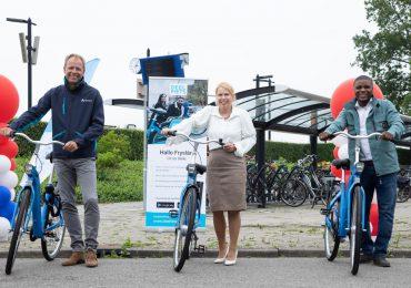 Officiële opening Deelfiets Nederland in Friesland